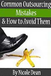 Outsourcing Mistakes and How to Avoid Them