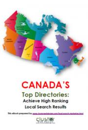 CANADA'S Top Directories: Achieve High Ranking  Local Search Results