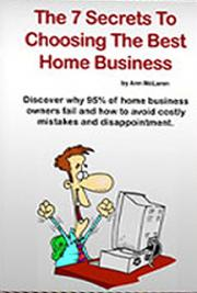 The 7 Secrets to Choosing the Best Home Business