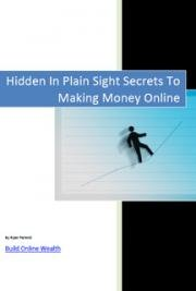 Hidden in Plain Sight Secrets to Making Money Online