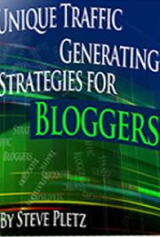 10 Unique Traffic Generating Strategies for Bloggers cover