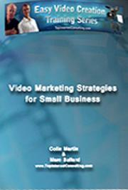 Video Marketing Strategies For Small Business cover