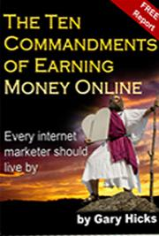 The Ten Commandments of Earning Money Online cover