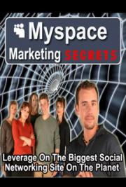 Myspace marketing secrets cover