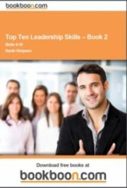 Top Ten Leadership Skills – Book 2 cover