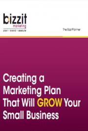 Creating a Marketing Plan That Will Grow Your Small Business