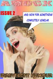 Amock Comedy Magazine 2 cover