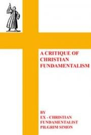 A critique of Christian Fundamentalism cover