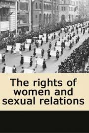 The rights of women and sexual relations cover