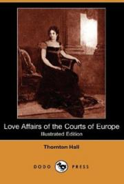 Love affairs of the courts of Europe cover
