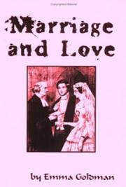 Marriage and love cover