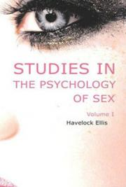 Studies in the psychology of sex, volume 1 cover