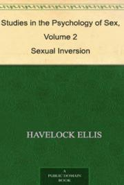 Studies in the psychology of sex, volume 2 cover