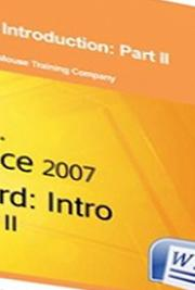Word 2007 Introduction: Part II