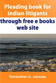 Pleading book for indian litigants through free e books web site