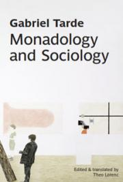 Monadology and Sociology cover