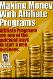 Making money with affiliate marketing programs