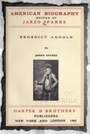 American biography (1902) Vol- 3 The Life and Treason of Benedict Arnold