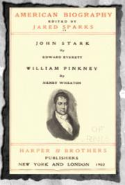 American Biography (1902) Vol- 6 John Stark and William Pinkney