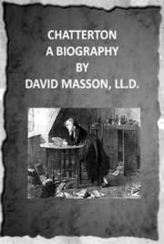 Chatterton; a biography (1899)