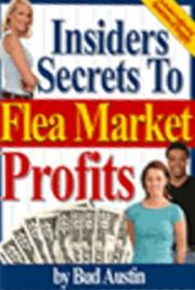 Insiders Secrets to Flea Market Profits