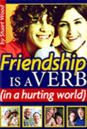 Friendship is a Verb (in a hurting world) cover