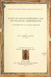 Study of organ inferiority and its psychical compensation