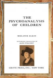 The Psychoanalysis of Chlidren