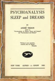 Psychoanalysis, sleep and dreams (1921)