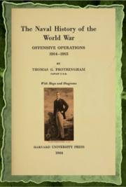 The naval history of the World War (1924) cover