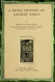 A Short History of Ancient Times (1922)