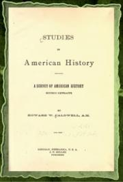 Studies in American History (1898)