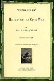 Young folks' history of the civil war (1895) cover