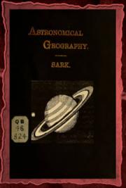Astronomical geography (1887)