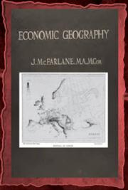 Economic geography (1915) cover