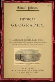 Physical geography (1883) cover