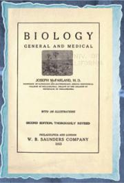Biology, general and medical (1920) cover