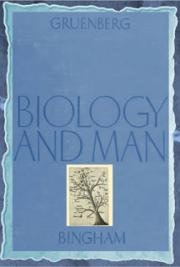 Biology and man (1944) cover
