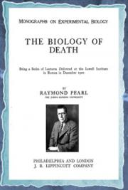 The biology of death (1922) cover