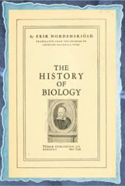 The history of biology : a survey (1935)