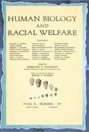 Human biology and racial welfare (1930)