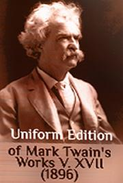 Uniform Edition of Mark Twain's Works V. XVII (1896) cover