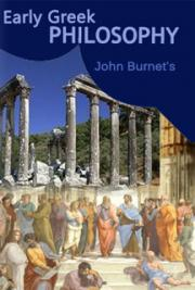 Early Greek Philosophy