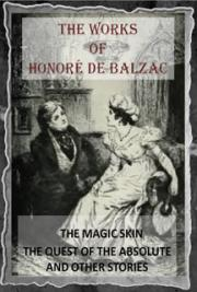 The works of Honoré de Balzac V.I (1901) cover