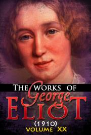 The works of George Eliot V. XX (1910) cover