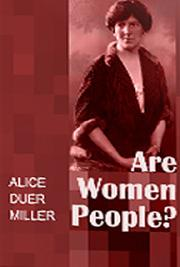 Are Women People cover