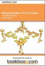 Managing Quality in The 21st Century cover