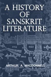 A History of Sanskrit Literature cover