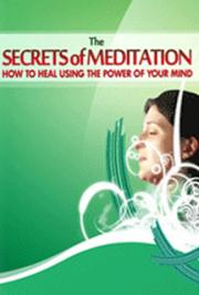 The secrets of Meditation cover