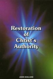 Restoration of the Authority of Christ